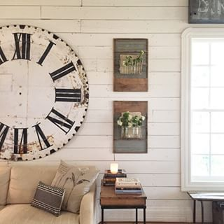 """Washboards aren't just washboards…   27 Decorating Tips We Learned From """"Fixer Upper"""" Star Joanna Gaines' Beautiful Instagram Account"""