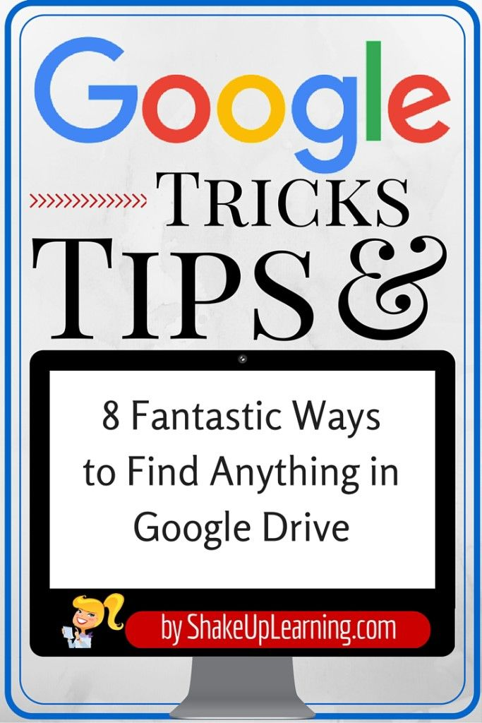 8 Fantastic Ways to Find Anything in Google Drive: My Google Drive is not the most organized, and I frequently rely on the search tool to find what I need. I have never been good at keeping all my dig (Tech Tips Google Classroom)