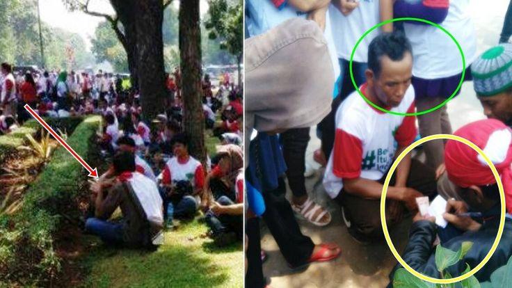 Heboh bukti ini Skak Mat aksi demo Bhineka tunggal ika, adlh @ksi Bayara...