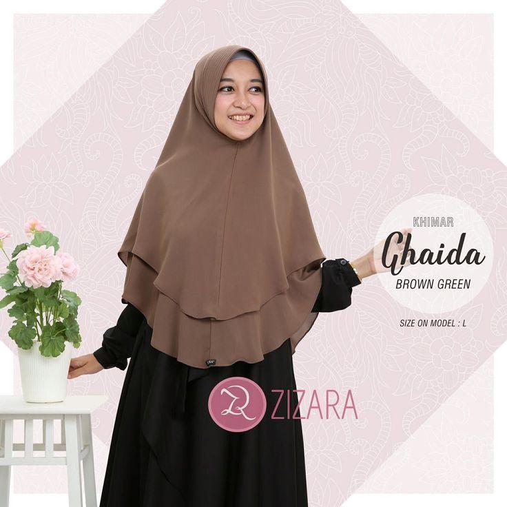 Khimar Zizara Ghaida Brown Green - hijab kerudung khimar jilbab syari Kini hadir untukmu yang cantik syari dan trendy . . Detail: - Bahan ceruti amunzen adem dan nyaman - Pet antem - 2 layer - Model cutting tepi oval - Jahit tengah - Warna asli 5% lebih gelap dari foto . . Harga: Rp 135.000 (size L) Rp 155.000 (size XL) . . www.facebook.com/gamiszizara www.tokopedia.com/gamiszizara www.bukalapak.com/gamiszizara www.gamiszizara.com . . Instagram: @gamiszizara Line: @gamiszizara Add Line klik: