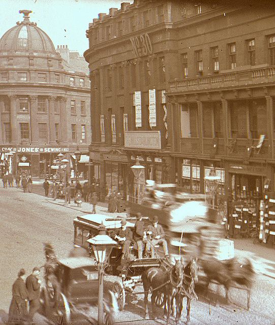Grainger Street, Newcastle upon Tyne by Tyne & Wear Archives & Museums, via Flickr