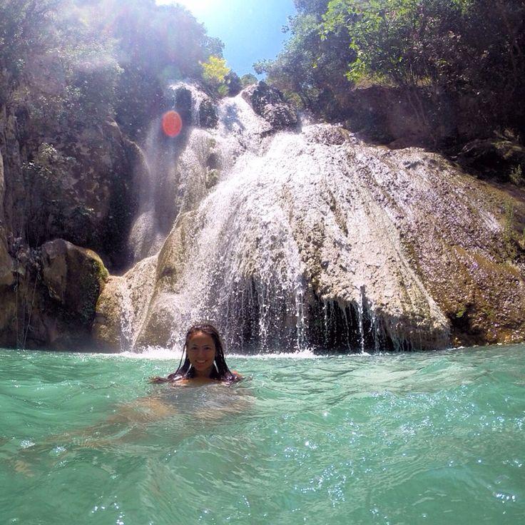 Polilimnio Waterfalls, Greece @mariahoriati