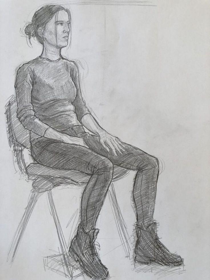 картинки рисунки сидящих людей вас хороший