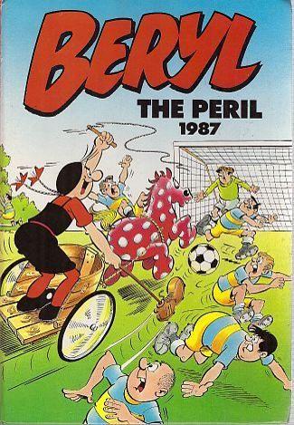 Beryl The Peril Annual 1987