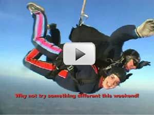 Tandem Skydiving, Parachute Jumping for Charity UK
