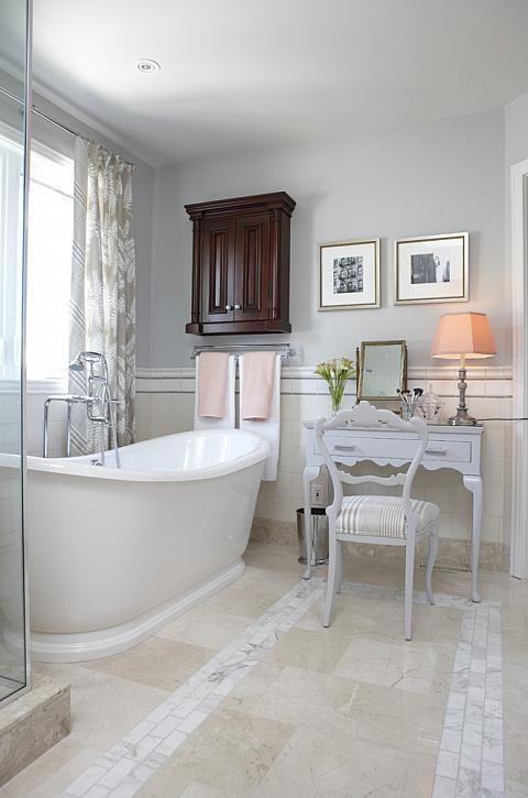 sarah richardson sarah 101 ensuite bathroom neutral vintage vanity