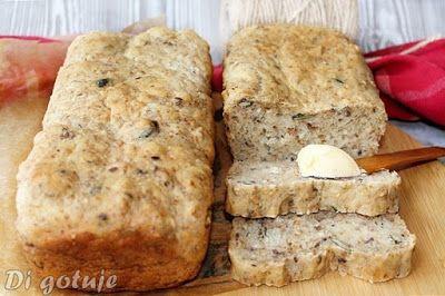 Di gotuje: Najłatwiejszy chleb bez wyrabiania (z dodatkami)