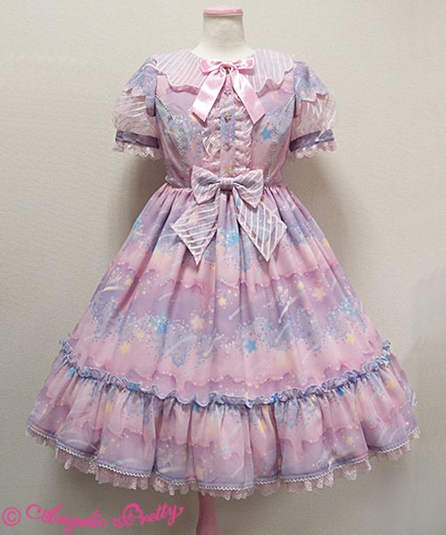 Angelic Pretty Melty Skyワンピース