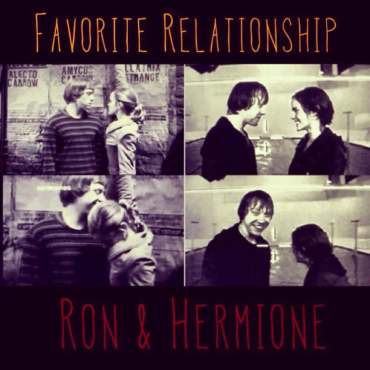hermione granger and ron weasley relationship