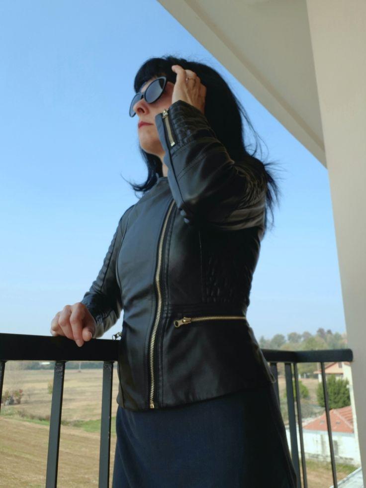 My Black Leather Jacket