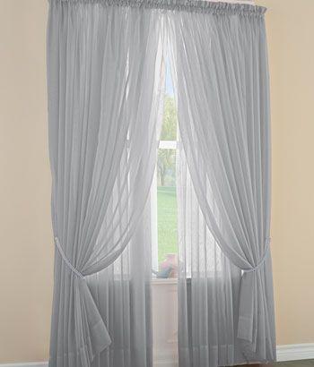 Sheer Curtains, Sheers, Sheer Curtain Panels, Semi Sheer Curtains - Country Curtains®
