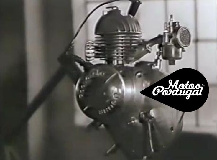 Pachancho clip-on engine. 1950s two-stroke engine. Made in Portugal