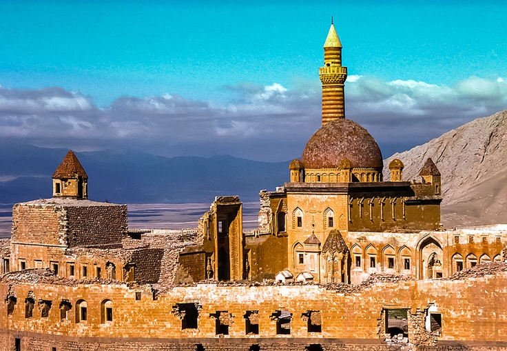 Ishak Pasha Palace (Turkish: İshak Paşa Sarayı) is a semi-ruined palace and administrative complex located in the Doğubeyazıt district of Ağrı province of eastern Turkey.