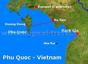 tropical Phu Quoc - how to get to Phu Quoc (Vietnam)