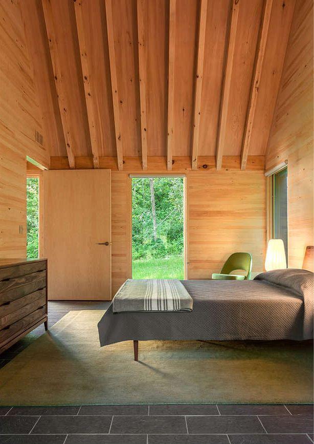 Modern house design Marlboro Music Cottages