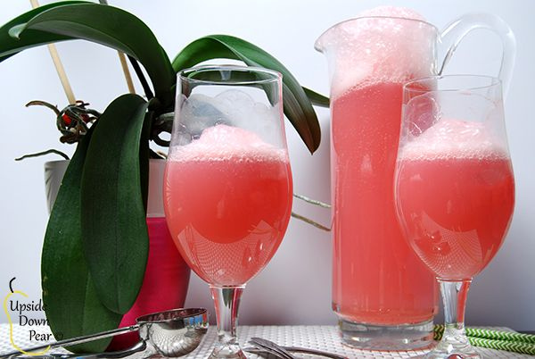 Champagne Sorbet Punch