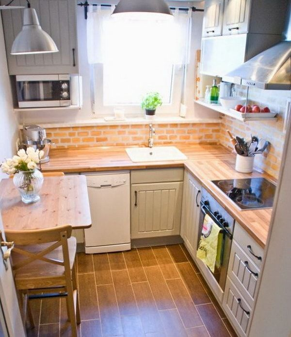 Mejores 12 imágenes de 5 simple tips for decorating small kitchens ...
