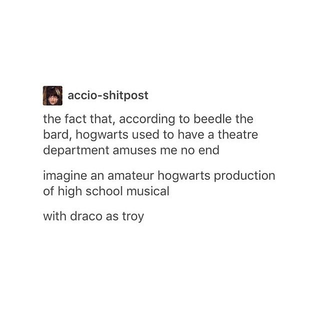PLOT TWIST. AVPM is what happened when the next gen. kids decided to bring back the theatre program and thought putting on the play about their parents would be worth a shot.