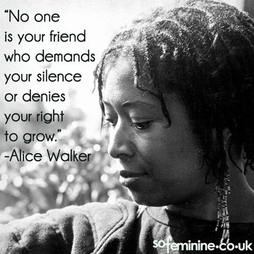 Inspirational Feminist Quotes: Alice Walker