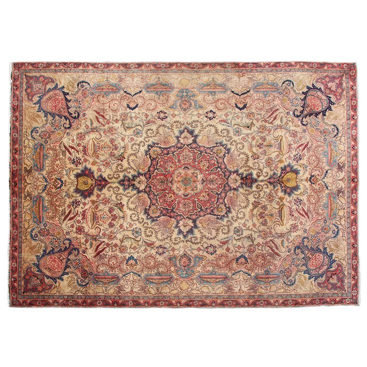 "10'6"" x 7'4"".Traditional area rug for sale, Oriental floor carpet, Antique Persian rug for living room, Hand knotted, area rug, Vintage wool rug, Code : S0101252"