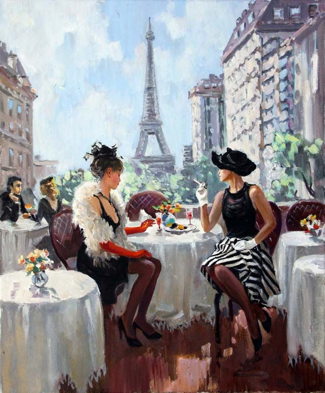 Stanislav Fomenok – Paris Cafe