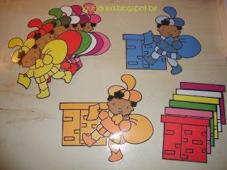 Begeleide of zelfstandige activiteiten - Kleuren sorteren voor de kleintjes