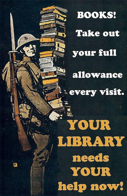 Use the library.We use it to score not only free books, but current CDs and DVDs as well. If you haven't used the library in awhile, you really need to give it a try.Saving Libraries, Vintage Libraries, Book Worth, Entire Gallery, Bookish Things, Libraries Posters, Budget Cut, Library Posters, Book Allowance