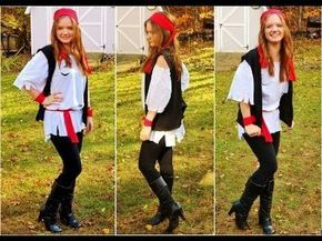Pirate Costume Ideas DIY Projects   Do It Yourself Projects and Crafts