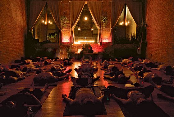 yoga to the people. Donation based so everyone has access to a still mind and strong body