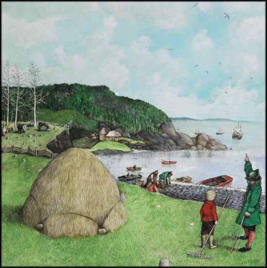 William Kurelek. Retired Sea Captain in Newfoundland, n.d.