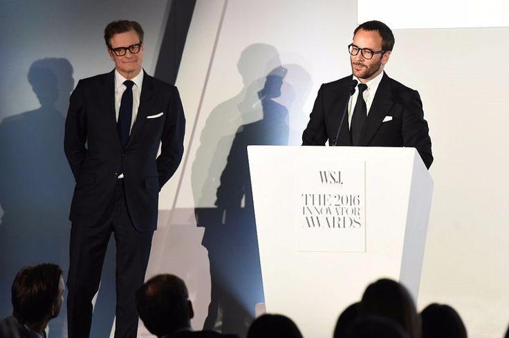Colin Firth at the WSJ Mag Innovator Awards - New York- 02 Novem — Я у мамы джентльмен