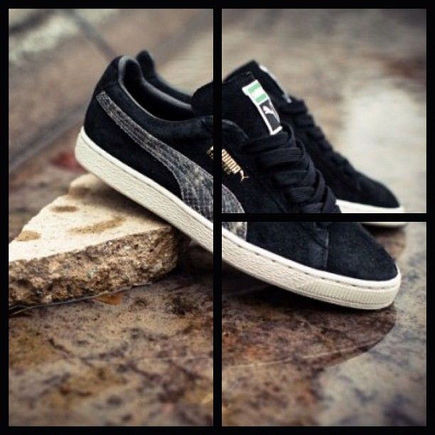 You liked the grey one, here is the Black #PUMA States x #Solebox