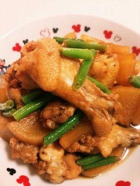 圧力鍋で簡単♪鶏手羽肉と大根のさっぱり煮 by ょっぴぃ [クックパッド ...