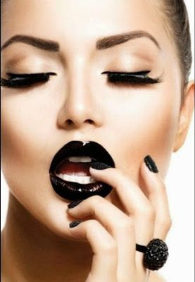 Warna Lipstik Untuk Bibir Hitam