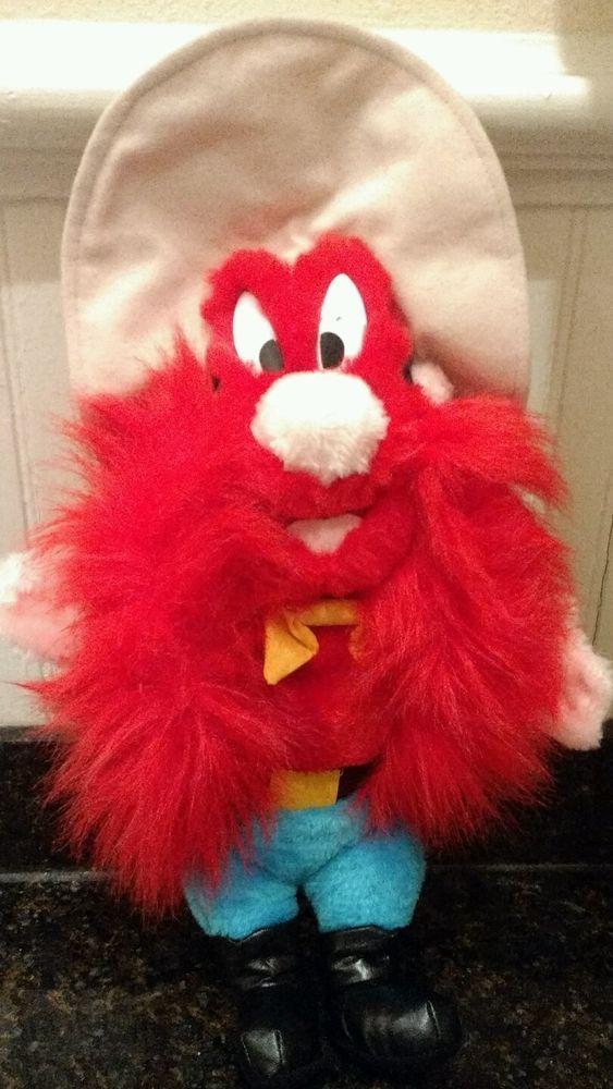 "Yosemite Sam 13"" plush doll Warner Bros Looney Toons #LoonyTunes"