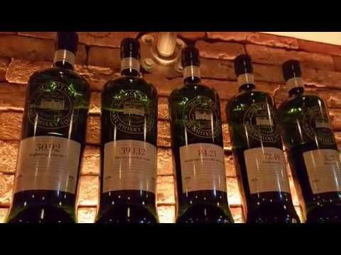 SMWS whisky tasting in JD Williams Whisky Bar Amsterdam by Hans Offringa
