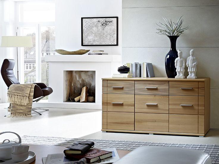 Die besten 25+ Sideboard kernbuche Ideen auf Pinterest Tv möbel - wohnzimmer kernbuche massiv