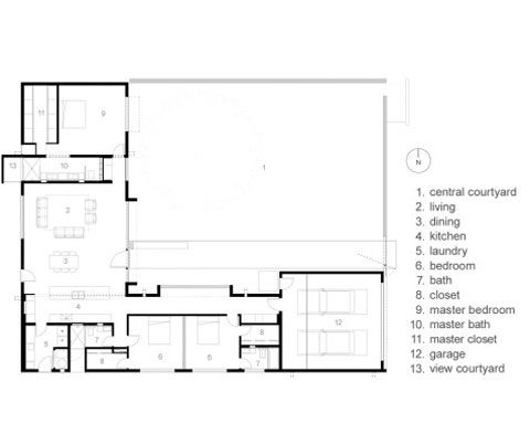 Ranch Floor Plans Indoor Pool Ranch Floor Plans Courtyard