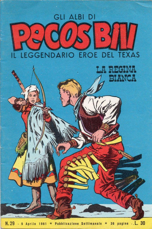 LA REGINA BIANCA - Albi di Pecos Bill n. 29 - 9 aprile 1961