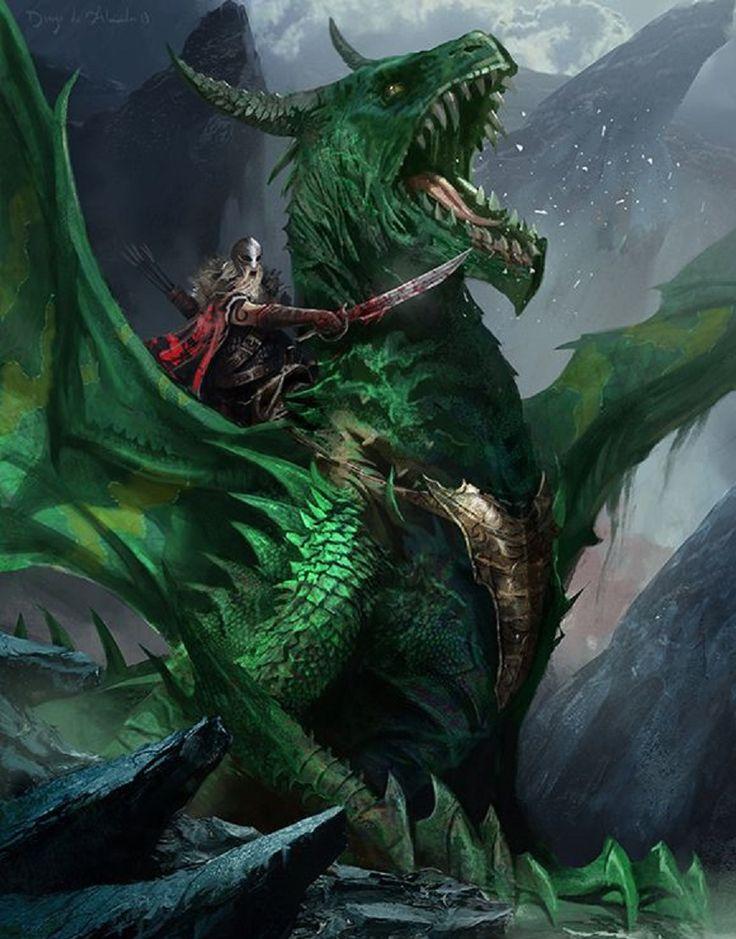 Dragon Knight by Diego Almeida (2013)