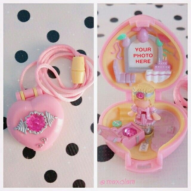 Pretty Present Locket 1992 With Images Polly Pocket World