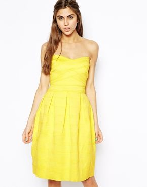 Enlarge River Island Textured Prom Dress