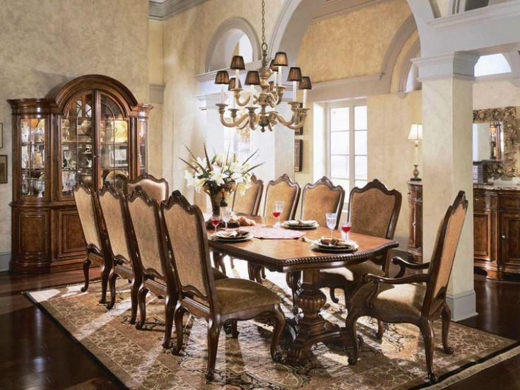 Furniture: Contemporary Formal Dining Room Sets 8 Chairs Also Rustic Formal  Dining Room Table From