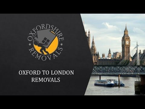 Oxford to London Removals