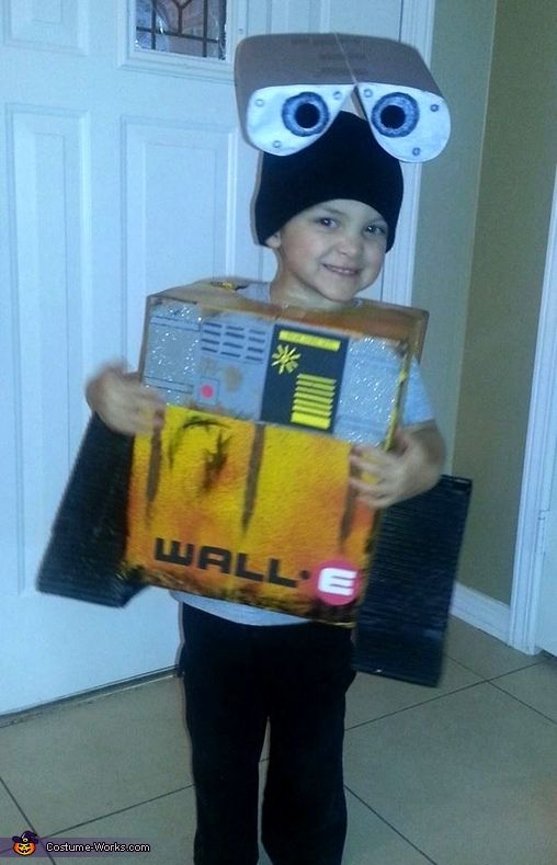 Kristie: My 3 year old son Gavin is going as WALL-E this Halloween. We couldn't find anything at the store that he was interested in this year so we decided to...