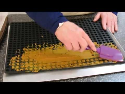Making Turmeric Paste and freezing into individual pills. The mat I am using was…