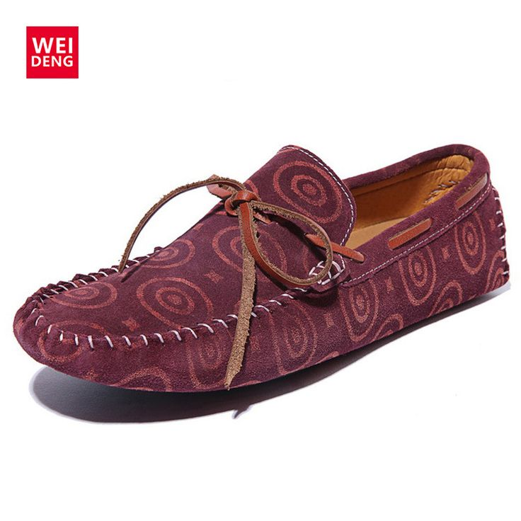 >> Click to Buy << WeiDeng Genuine Leather Smoking Driver Shoes Casual Slip On Men Loafers Moccasins Flats Sapatos Masculinos Zapatos Hombre 2016 #Affiliate