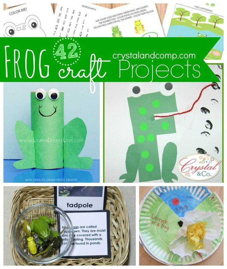 42 frog craft activities for kids frog crafts and frogs for Frog crafts for preschoolers