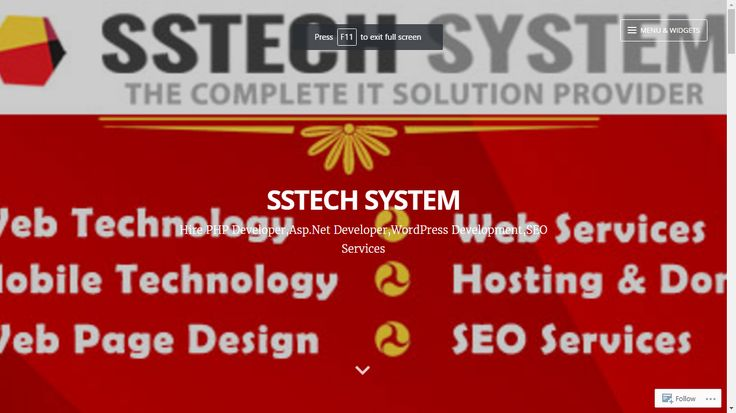 SSTech System a leading web development company offers a professional and flexible application development service that brings more sales and leads. Please Visit my Website link; https://sstechsystemblog.wordpress.com/