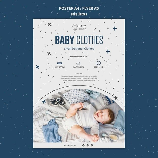 Download Baby Clothes Template Poster For Free Shop Kids Clothes Baby Clothes Baby Clothes Shops